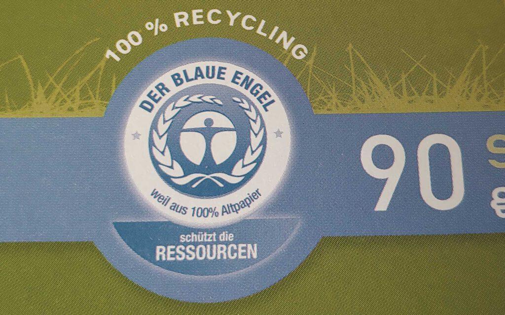 Das Umweltsiegel Blauer Engel