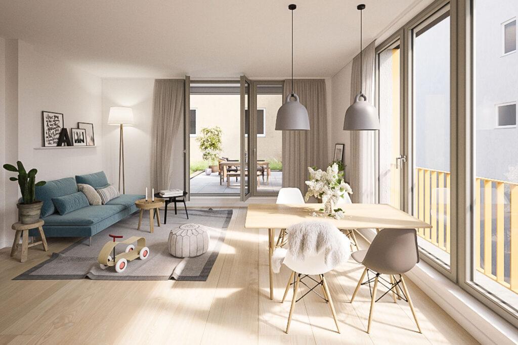 Immobilienprojekt Neues Gartenhaus