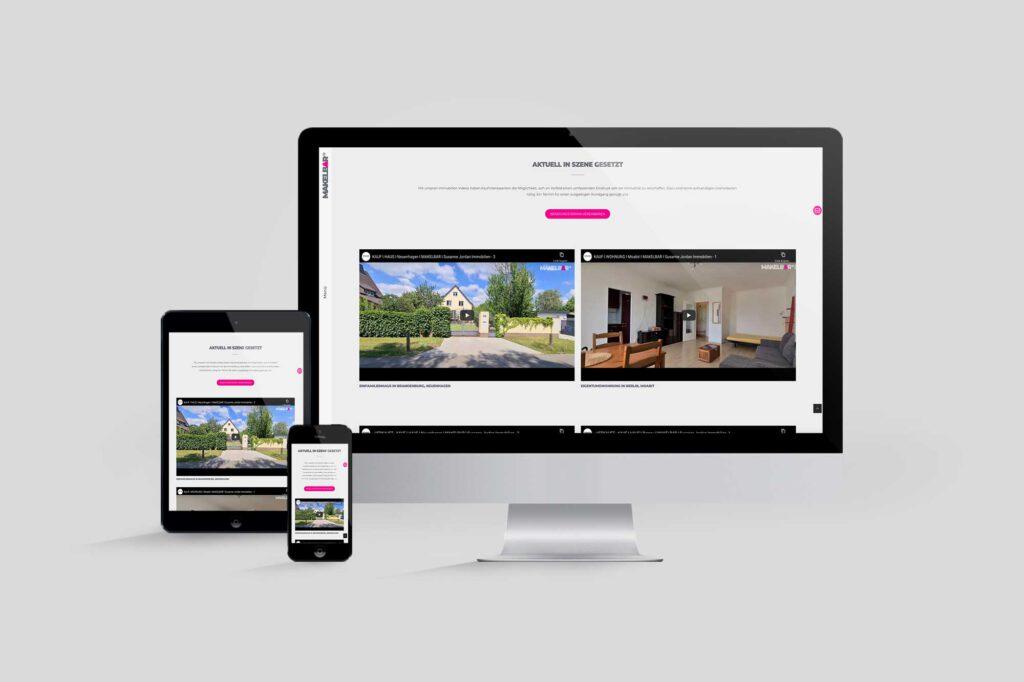 Makler-Website MAKELBAR | Susanne Jordan Immobilien - Immobilienvideos