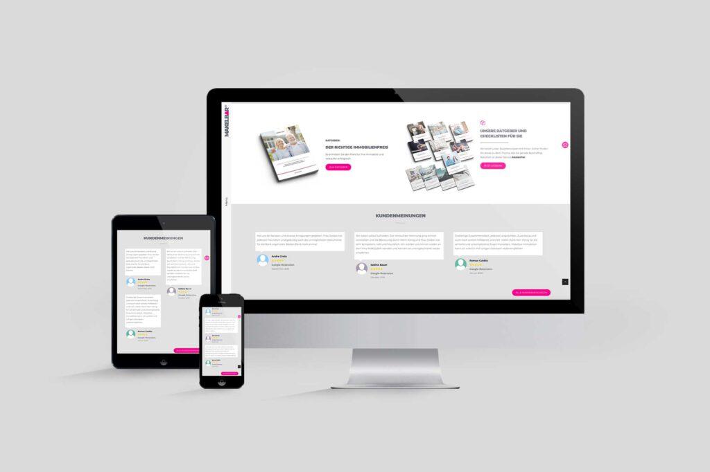 Makler-Website MAKELBAR | Susanne Jordan Immobilien