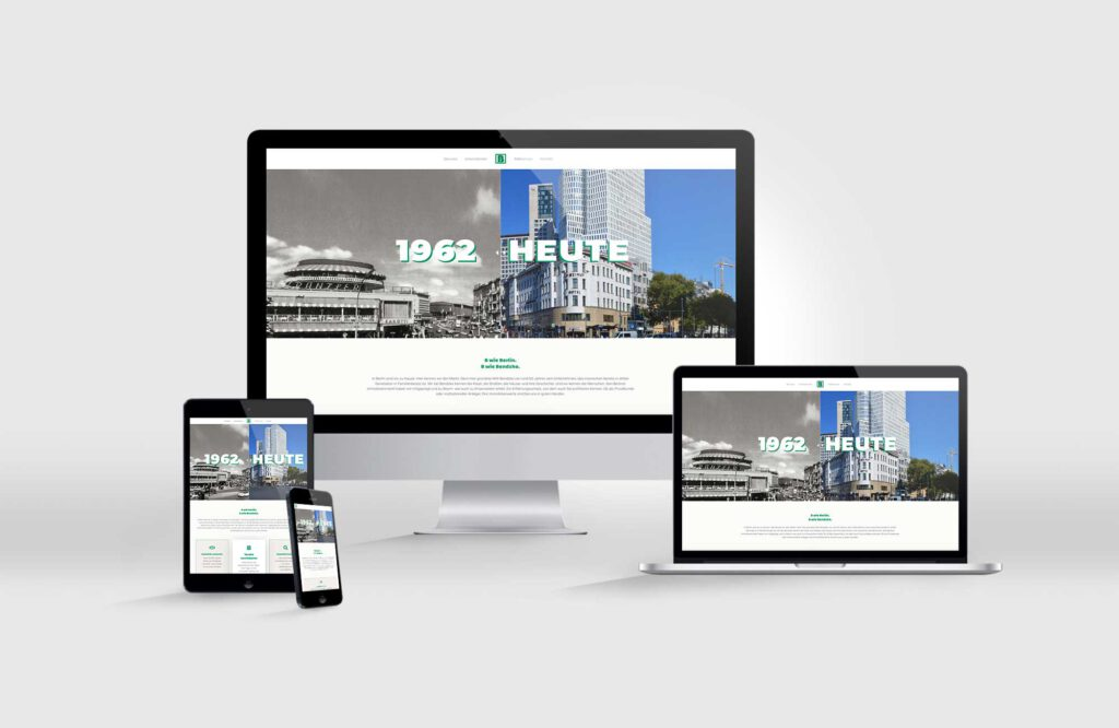 Makler-Website Bendzko Immobilien