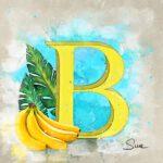 A | Banana | Banane