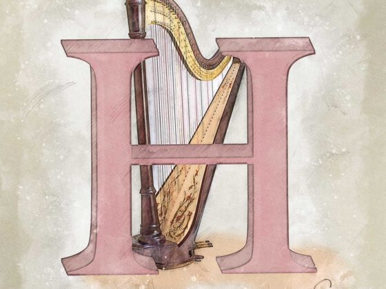 H | Harfe | Harp