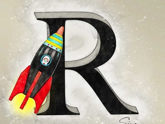 R | Rocket | Rakete