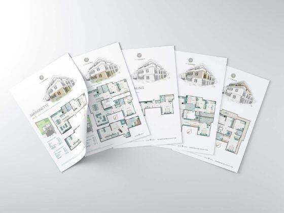 Grundrisse als PDF Download für Villa La Rochelle
