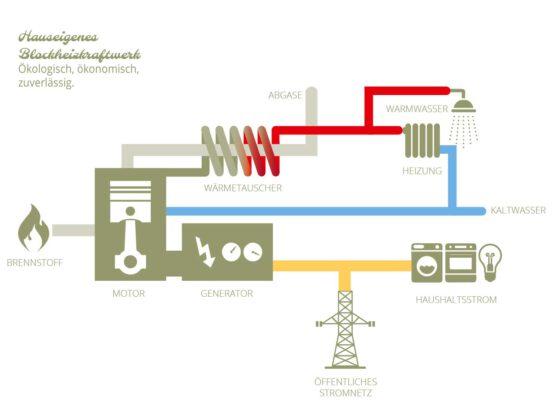 Infografik für Neubauprojekt