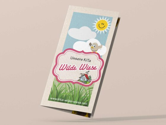 Kita Wilde Wiese Flyer 6-seitig