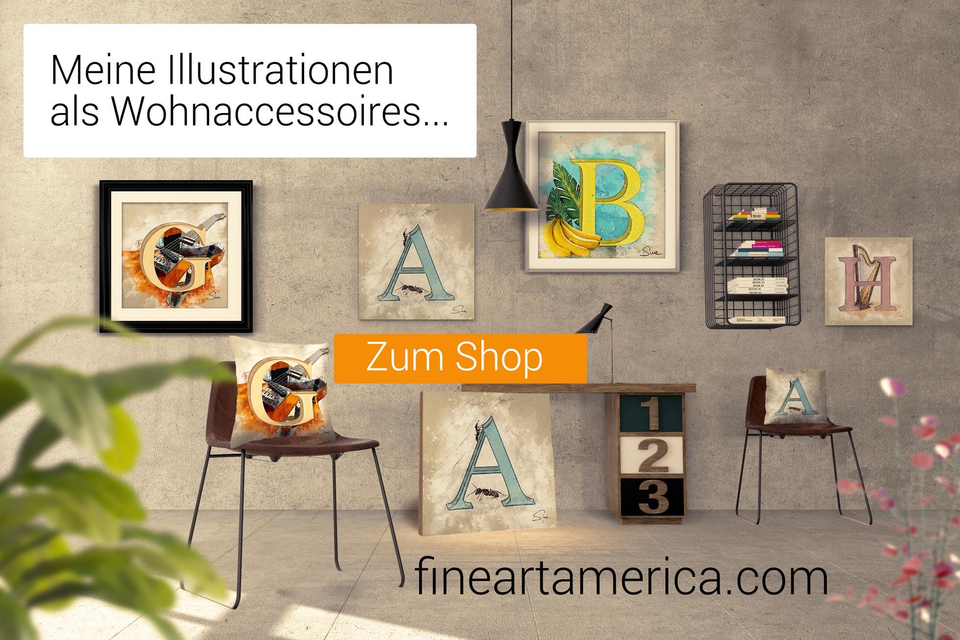 Shop auf Fine Art America