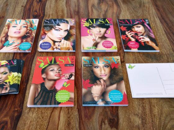 Postkarten Salsa Mag