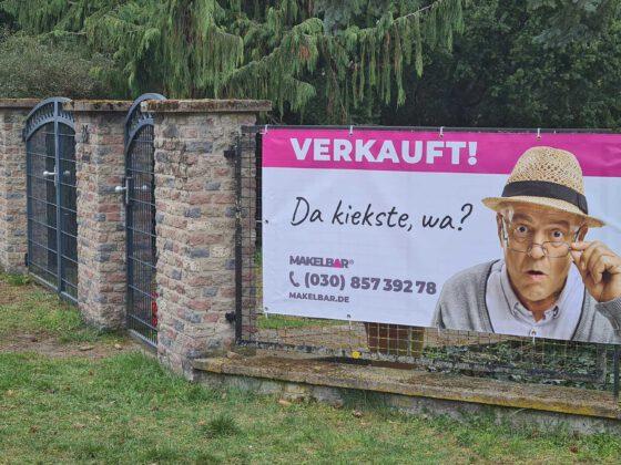 Banner am Objekt Makelbar